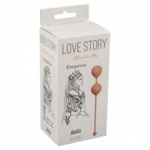 Небольшие вагинальные шарики Love Story Empress Tea Rose (68 г)