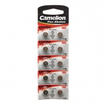 Батарейка Camelion LR44 (AG13), 1,5V (2 шт в упаковке)