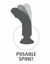 Вибратор-реалистик на присоске PipeDream King Cock 6''