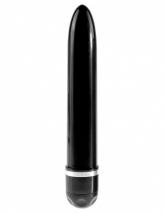 Большой реалистичный вибратор PipeDream King Cock Vibrating Stiffy 9'' (многоскор. вибрация)