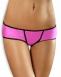 Яркие розовые трусики со шнуровкой на попке Essential Panty LXL1