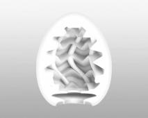 Супер эластичный мастурбатор в виде яйца Wavy II