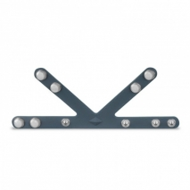 Кольцо с разделителем для мошонки Boners V-Shape Ball Splitter