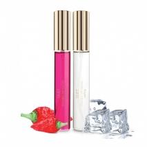 Набор из согревающего и охлаждающего блесков для сосков Kissable Nip Gloss (2*13 мл)