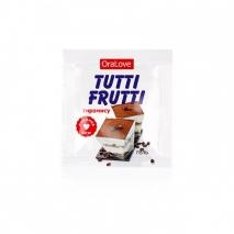 Оральный гель Tutti-Frutti со вкусом тирамису (5 шт * 4 г)