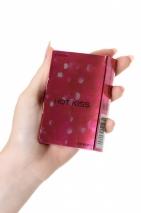 Тонкие латексные презервативы с разогревающим эффектом Sagami Hot Kiss (5 шт)