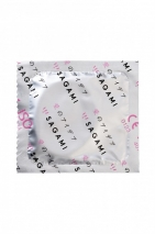 Тонкие латексные презервативы с разогревающим эффектом Sagami Hot Kiss (10 шт)