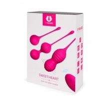 Набор вагинальных шариков на дистанционном управлении SweetHeart (9 режимов)