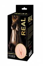 Реалистичный мастурбатор-вагина с двойной структурой Real Women Dual Layer