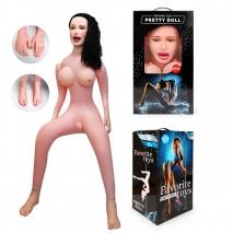 Секс-кукла ВИКТОРИЯ с мягкими сосочками (с вибрацией)