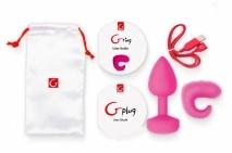 Набор для пары (анальная пробка и кольцо) Gvibe Gkit (6 режимов)