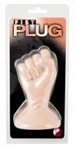 Небольшой кулак на присоске Fist Plug