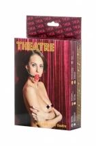 Красный дышащий кляп TOYFA Theatre