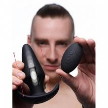 Анальная пробка с эффектом толкания на ДУ XR Brands Kinetic Thumping 7X Large Anal Plug (7 режимов)