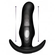 Анальный стимулятор с эффектом толкания на ДУ XR Brands Kinetic Thumping 7X Prostate Anal Plug (7 режимов)