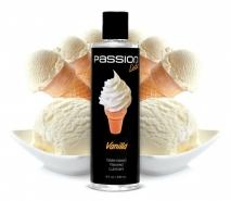 Оральный лубрикант Passion Licks Water Based Flavored Lubricant (ванильное мороженое) 236 мл