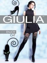 Игривые колготки с кошечками и имитацией ботфорт Enjoy Cat S (2) 60 Den