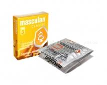 Презервативы Masculan тип 3 (с колечками и пупырышками) 3 шт.