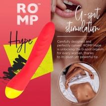 Вибромассажер для G-точки Romp Hype (10 режимов)