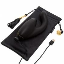 Бесконтактный клиторальный стимулятор Womanizer Duo черный (10+12 режимов)