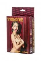 Металлический кляп-кольцо TOYFA Theatre