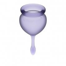 Набор менструальных чаш с хвостиком-капелькой Feel Good Menstrual Cup Lilla
