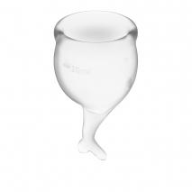 Набор менструальных чаш с хвостиком Feel Secure Menstrual Cup