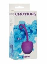 Вагинальный шарик со смещенным центром тяжести Emotions Sweetie Purple