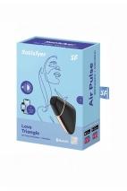Вакуумно-волновой вибростимулятор Satisfyer Love Triangle (синхронизируется со смартфоном)
