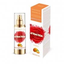 Разогревающее массажное масло MAI ATTRACTION с феромонами и с ароматом манго (30 мл)