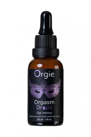 Возбуждающий гель для клитора ORGIE Orgasm Drops с разогревающим эффектом (30 мл)