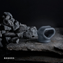 Эрекционное кольцо на член и мошонку BONERS Slings
