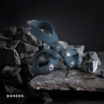 Эрекционное кольцо с разделением яичек Boners 8 Style Ball Splitter