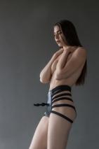 Страпон-трусики с анальным стимулятором No Mercy Hotter S/M