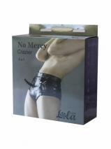 Страпон-трусики с анальным стимулятором No Mercy Crazier S/M
