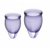 Набор менструальных чаш Feel Confident Menstrual Cup Lilla