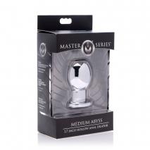 Металлический анальный стимулятор Medium Abyss 1.7 Inch Hollow Anal Dilator (средний)