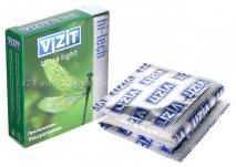 Презервативы VIZIT Hi-tech ULTRA LIGHT ультратонкие, 3 шт.