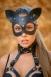Кожаная маска Кошка Lady's Arsenal Black1