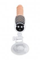 Секс-машина с подогревом и на ДУ Sekster MotorLovers (7 режимов вибрации и фрикций)