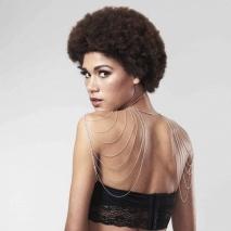 Цепочка на плечи Bijoux Indiscrets Magnifique Metallic chain shoulders & back jewelry