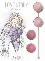 Набор сменных вагинальных шариков Love Story Valkyrie Pink