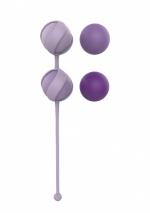 Набор сменных вагинальных шариков Love Story Valkyrie Purple