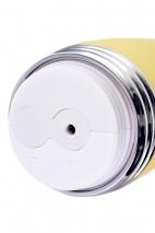 Мощный перезаряжаемый вибратор с клиторальным стимуляторо Aster (10 режимов)