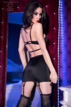 Черное платье со стрингами L