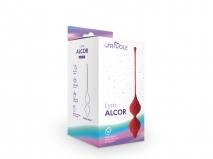 Рельефные вагинальные шарики Alcor