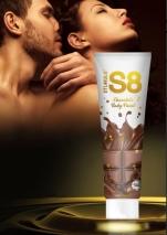 Съедобная краска для тела со вкусом шоколада Stimul 8 Bodypaint (100 мл)