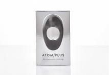 Большое и мощное эрекционное виброкольцо с двумя виброэлементами ATOM PLUS (5 режимов, 5 скоростей)