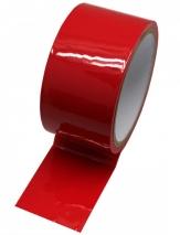 Красный скотч для бондажа (16 м)