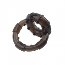 Эрекционное кольцо на член и мошонку Dual Enhancement Ring